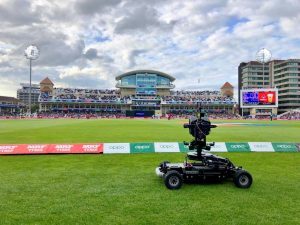 [AGITO Sports filming the Cricket world cup in 2019]